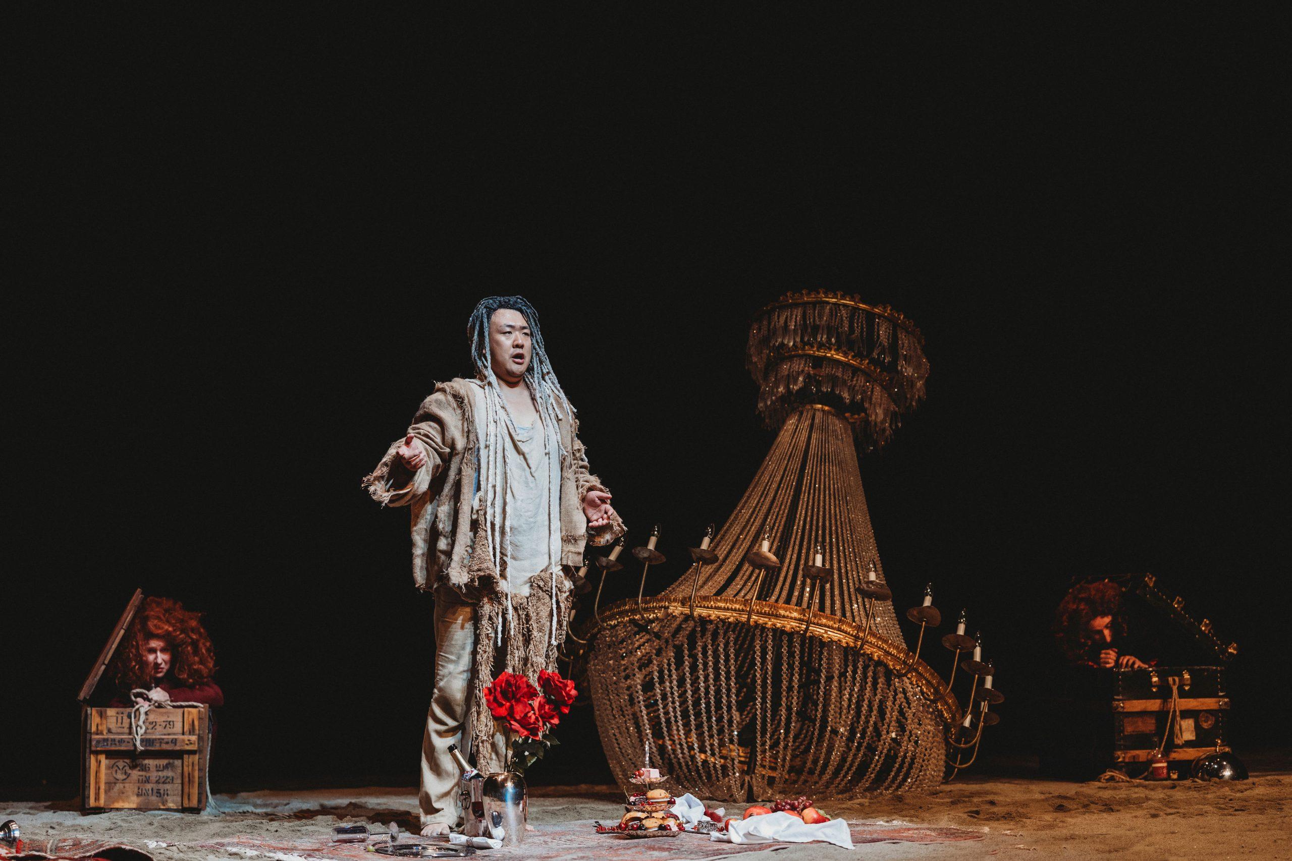 Blauer Salon   Junge Oper Rhein-Main   Caliban   Tiroler Festspiele Erl   OPERiAMO   Bildnachweis: Xiomara Bender